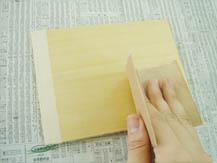 つや出しニス(水溶性)|塗り方手順2