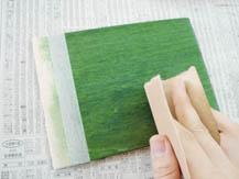 ポアーステイン+水性ニス|塗り方手順2
