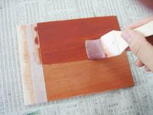 ウレタン着色ニス(水性)|塗り方手順3