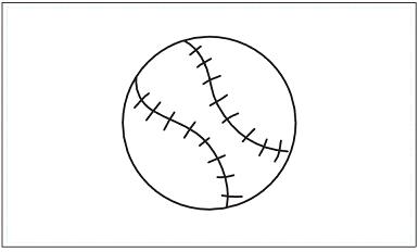 木彫図案集|野球-03|サンプル