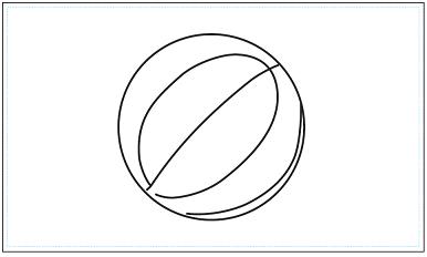 木彫図案集|バスケット-02|サンプル