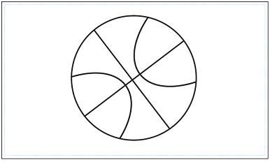 木彫図案集|バスケット-03|サンプル