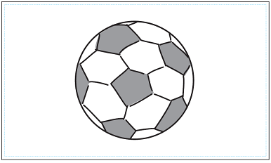 木彫図案集|サッカー-02|サンプル