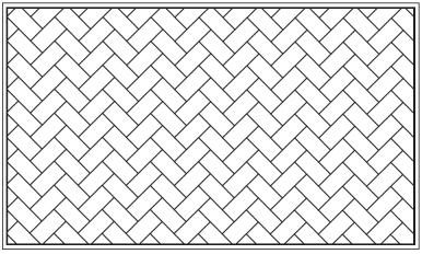 木彫図案集|天板|檜垣模様-02|サンプル