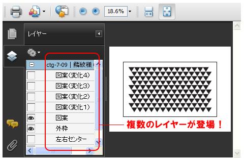 PDFデータのレイヤーの解説