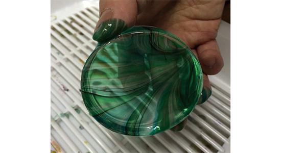ガラスマーブリング7