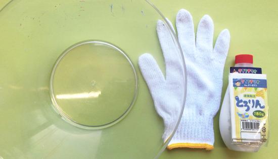 液体粘土作品の作り方|用意するもの