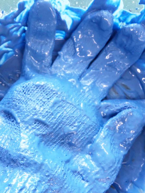 液体ねんど作品の作り方|色をつける